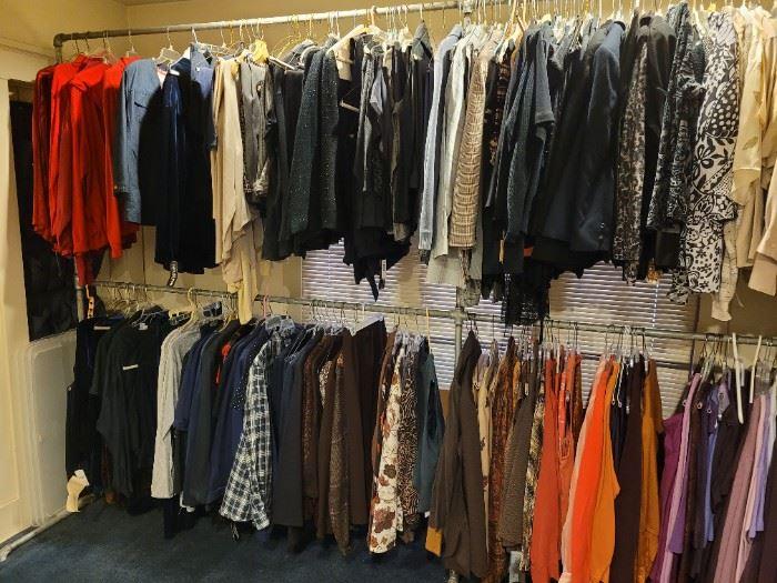 Clothing-on-Racks