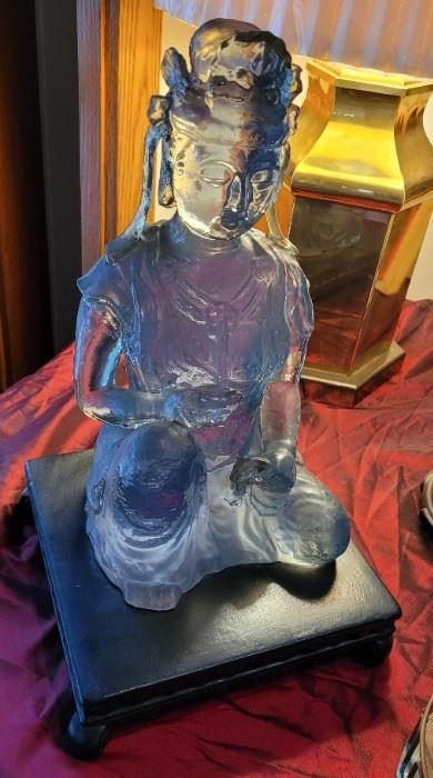 Glass-Buddha