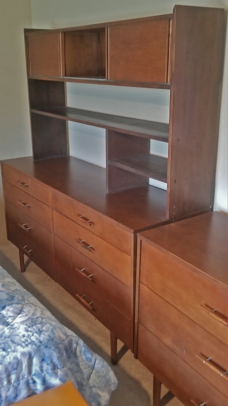 McCobb Dresser and Shelf