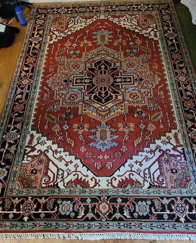 Orange-Persian-Carpet
