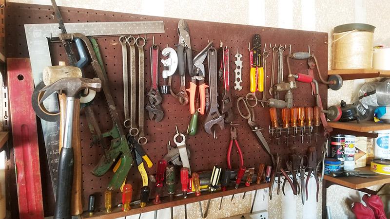 Tools-on-Wall
