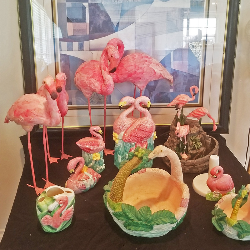 Bunch-of-Flamingos