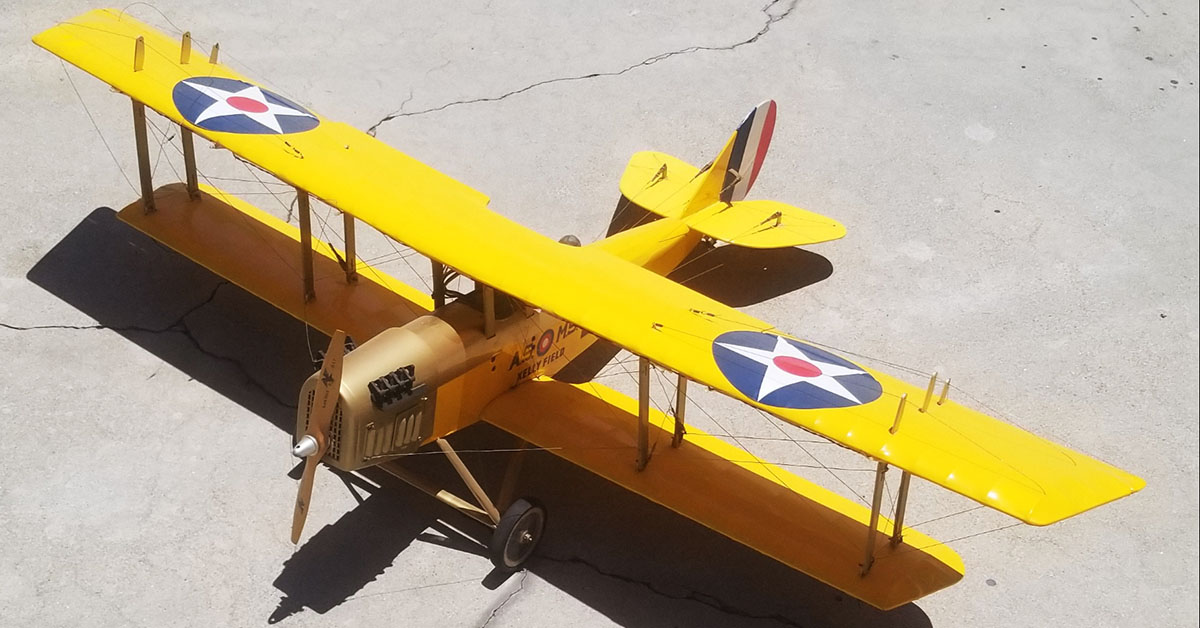 Yellow-Model-Bi-Plane
