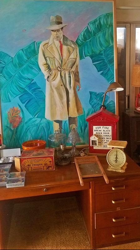 Bogart-Painting
