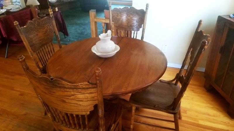 Oak-Dining-Set
