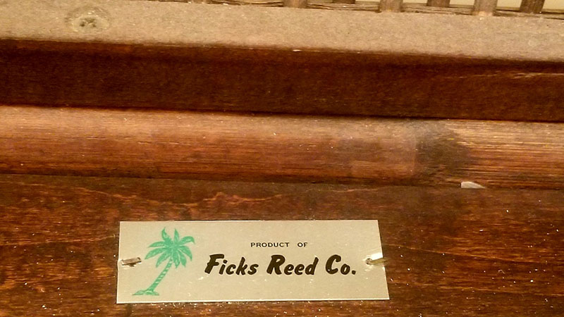 Ficks-Reed-Label