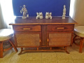 Bamboo-Rattan-Sideboard-and-Stools