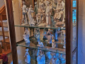 Lladro-Figures-in-Cabinet