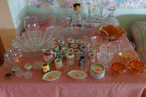 china, dishes, southern california, la area, san dimas, estate sale, vander molen estate sales,