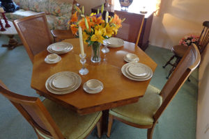 dining set, furniture, southern california, la area, san dimas, estate sale, vander molen estate sales,