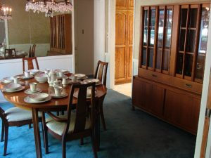 dining room, mid-century, furniture, estate sale, santa ana, vander molen estate sale