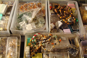 jewel making, supplies, estate sale, west covina