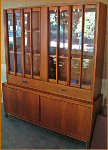 china hutch, mid-century, furniture, estate sale, santa ana, vandermolen estate sales
