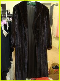 mink coat, estate sale, vander molen estate sales, west covina