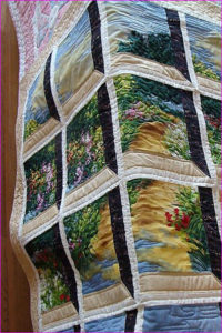 custom quilt, estate sale, pomona
