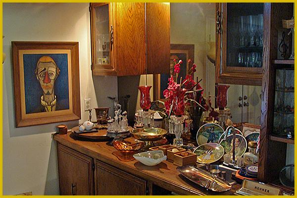 estate sale, knick knacks, anaheim, orange county, vander molen estate sales
