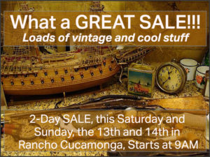 estate sale, rancho cucamonga, southern california, vander molen, professional estate sales