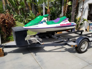 estate sale, jet ski, upland
