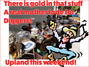 Estate Sale, Upland, California