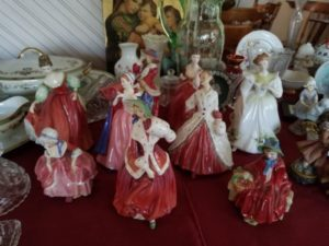 Doulton Figures, China Figures, Estate Sale