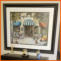 art, wall art, estate sale, upland, vander molen