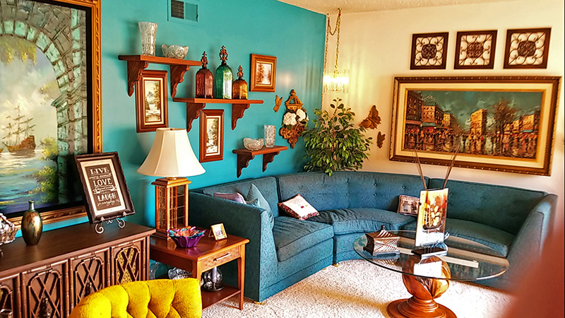 midcentury, living room, furniture, monrovia, estate sale
