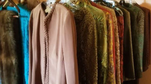 fashion clothing, estate sale