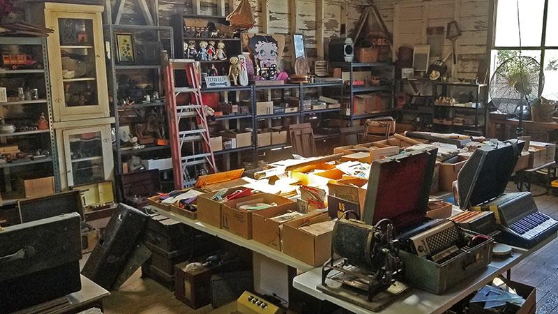 old barn, estate sale, vintage goods, antique sale