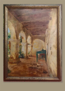 emil kosa, oil painting, estate sale