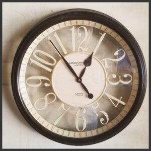 wall clock, estate sale, san bernardino