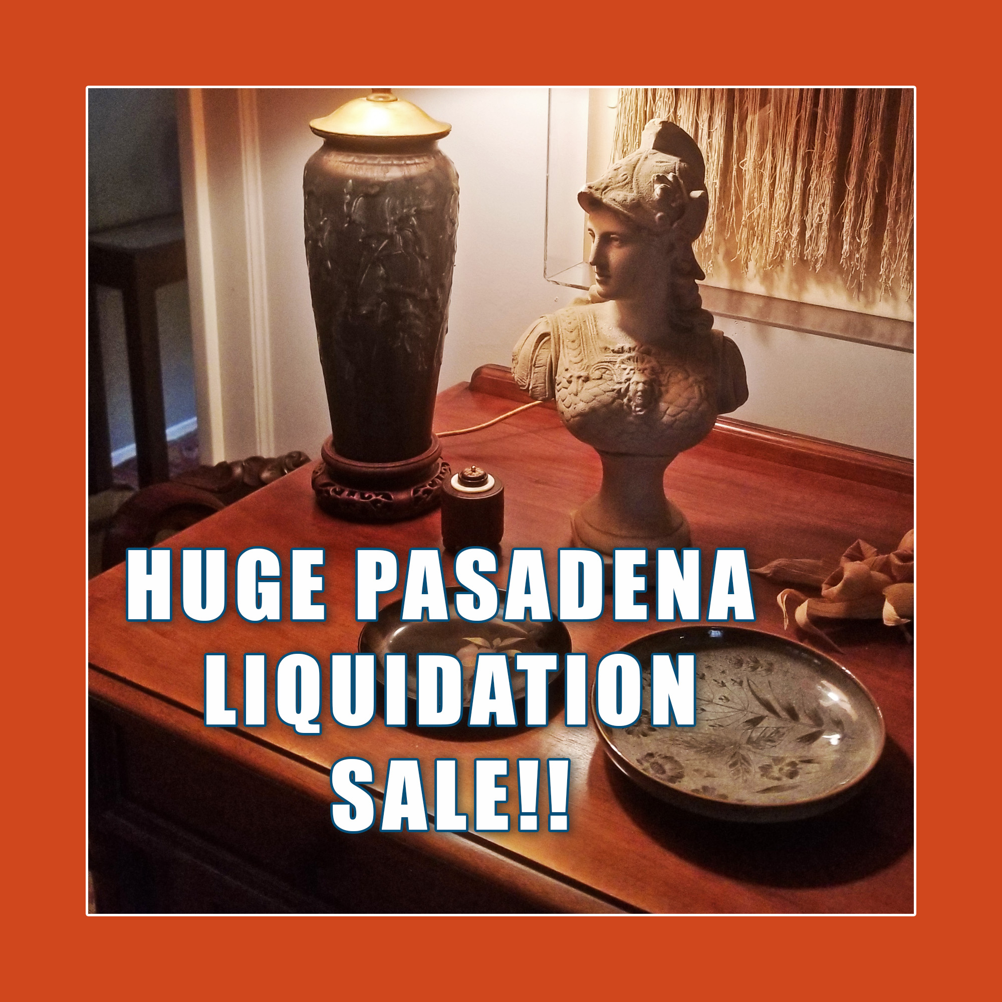 Elegant and Eclectic Pasadena Estate Sale! October 2nd and 3rd