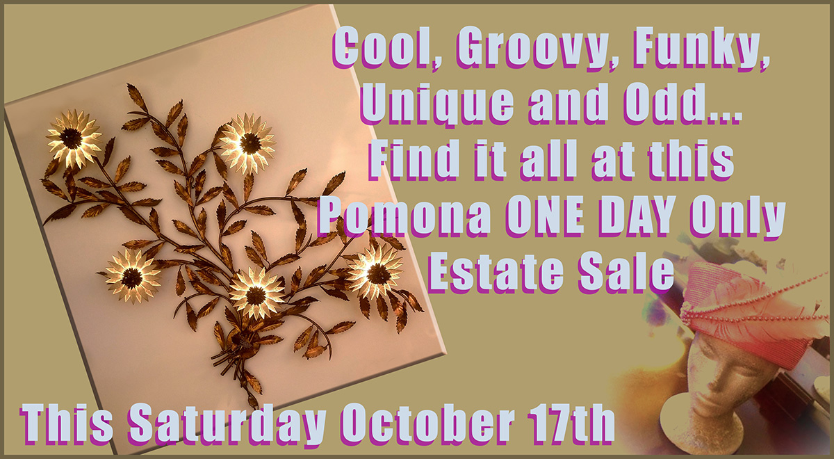 Estate sale, pomona, california
