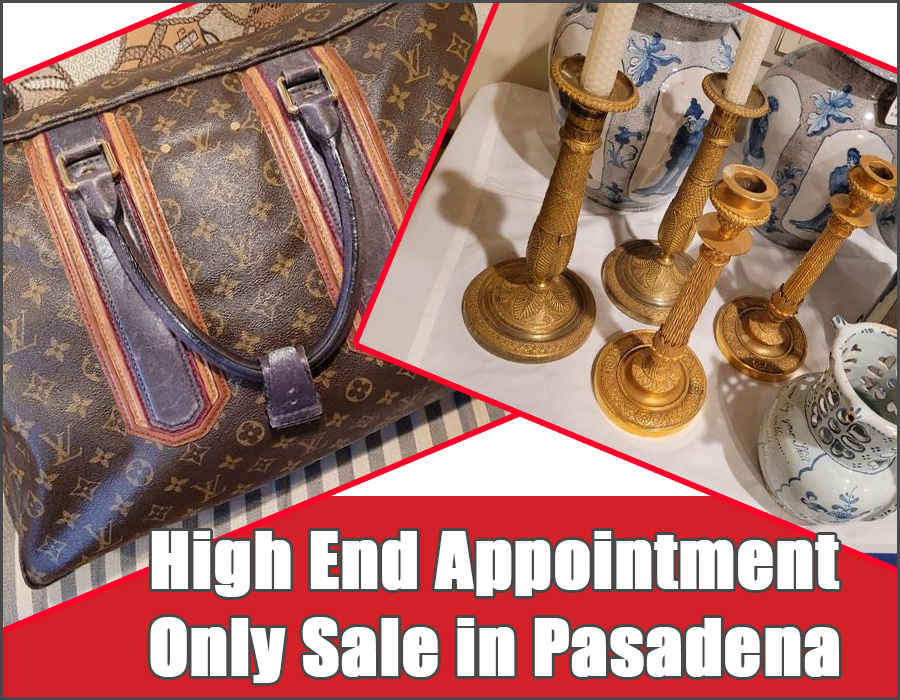 Pasadena, Estate Sale