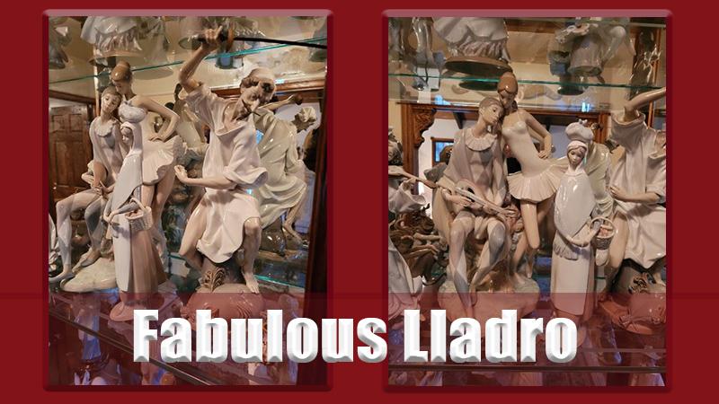 lladro, figurines, estate sale, monrovia