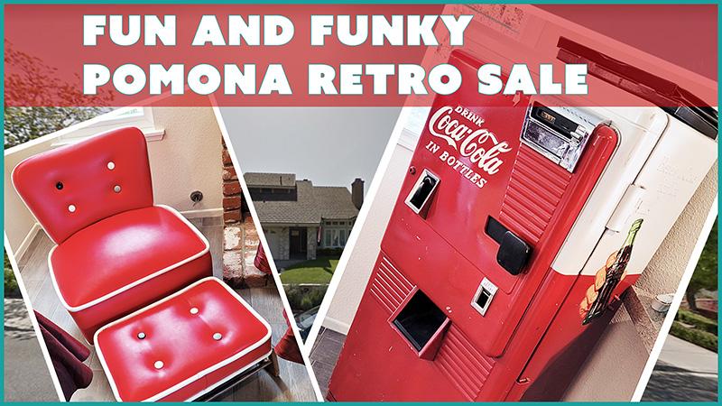 pomona, estate sale, retro, vintage