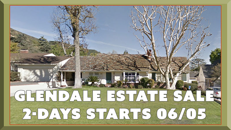 Glendale, California, estate sale