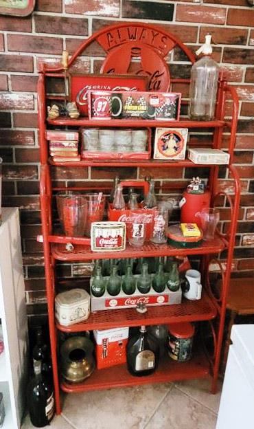 vintage, coca cola collectibles, estate sale