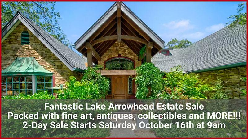 Lake Arrowhead, Estate sale, vandermolen estate sales