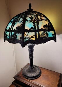 Art Deco Lamp ,Estate Sale