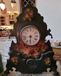 Antique clock, estate sale